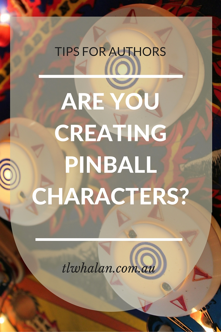 Are you creating pinball characters?