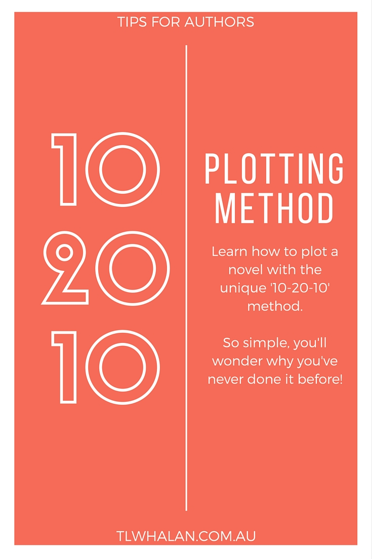 The 10 20 10 method for plotting your novel.