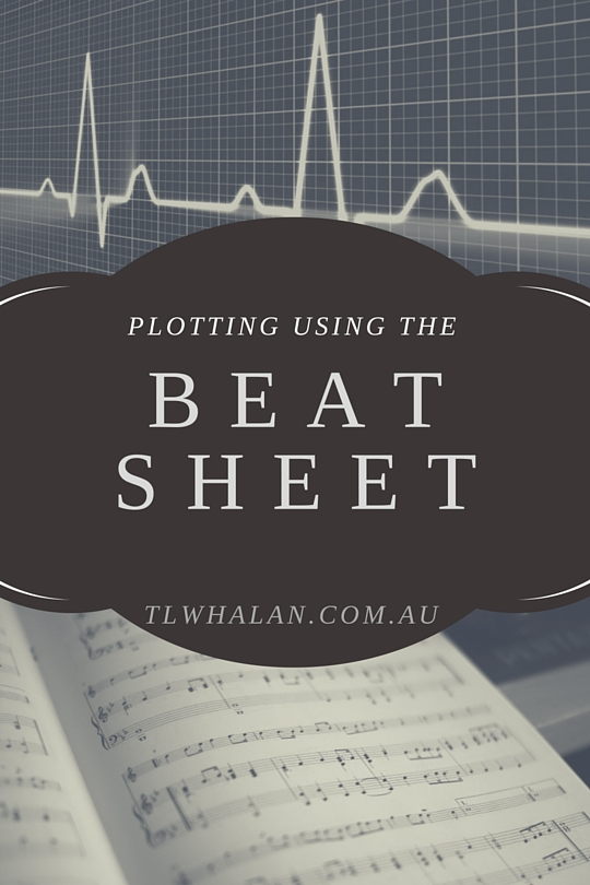 Plotting using the beat sheet.